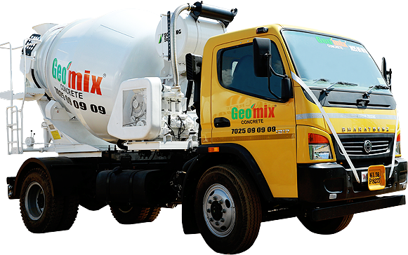 Geomix concrete for construction works in kannur, calicut ,kasargod concrete_mixer